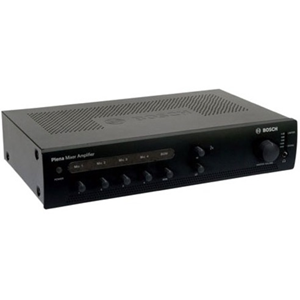 Bosch Plena PLE-1ME120-EU Amplifier - 120 W RMS - Charcoal - 60 Hz to 20 kHz - 400 W