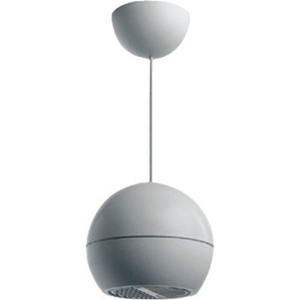 Bosch Outdoor Pendant Mount, Ceiling Mountable Speaker - 10 W RMS - Pure White - 130 Hz to 20 kHz - 1 Kilo Ohm