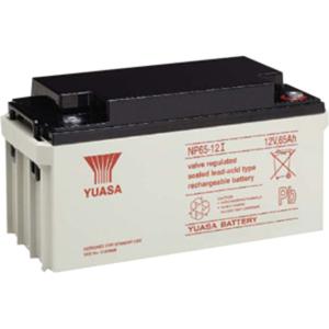 Yuasa NP 65-12I Multipurpose Battery - 65000 mAh - Sealed Lead Acid (SLA) - 12 V DC - Battery Rechargeable