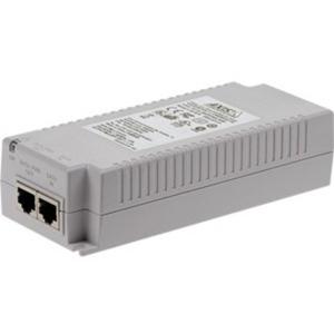 AXIS T8134 PoE Injector - 120 V AC, 230 V AC Input - 55 V DC Output - 1 10/100/1000Base-T Input Port(s) - 1 10/100/1000Base-T Output Port(s) - 60 W - Wall/Shelf/DIN Rail-mountable