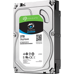 Seagate SkyHawk ST3000VX010 3 TB Internal Hard Drive - SATA - 64 MB Buffer