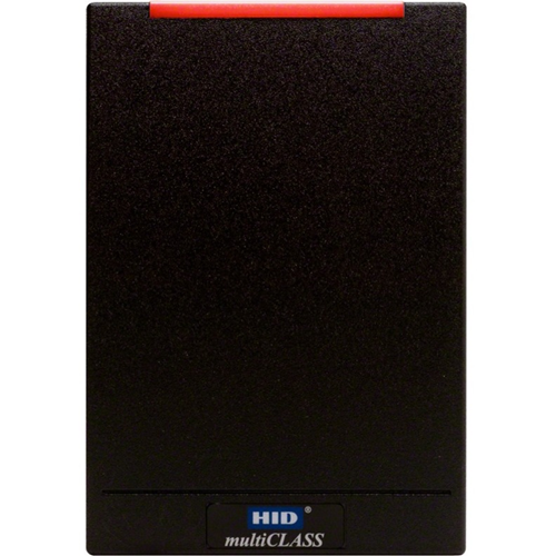 HID multiCLASS Smart Card Reader - Black - Cable88.90 mm Operating Range