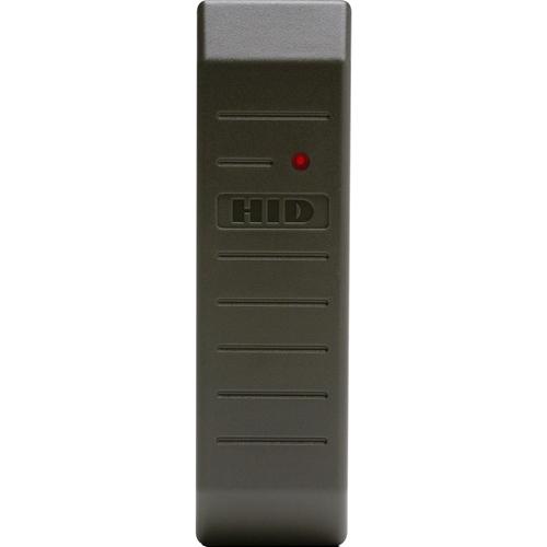 HID MiniProx 5365E Smart Card Reader - Grey - 139.70 mm Operating Range - Wiegand