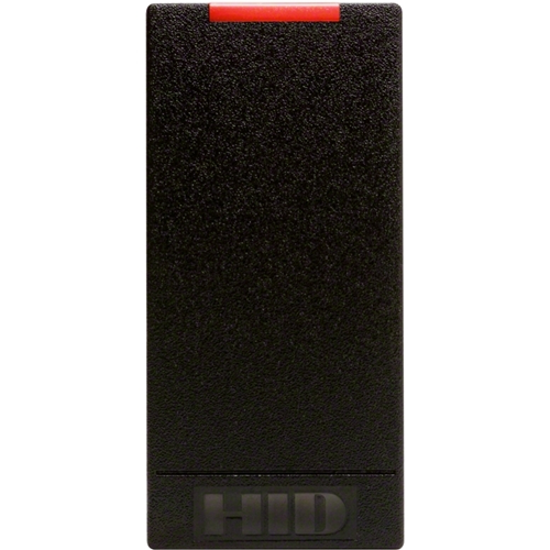 HID iCLASS 6100C Smart Card Reader - Black - Cable82.55 mm Operating Range