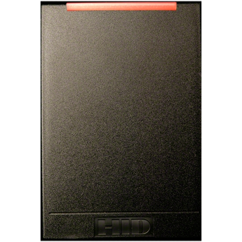 HID iCLASS 6120 Smart Card Reader - Black - Cable120.65 mm Operating Range
