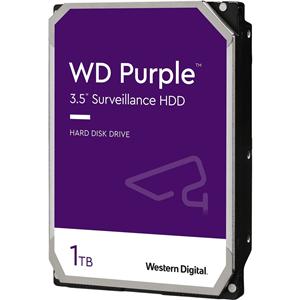 """WD Purple WD10PURZ 1 TB 3.5"""" Internal Hard Drive - SATA - 5400rpm - 64 MB Buffer"""