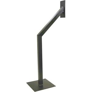CDVI Mounting Post for Card Reader, Intercom System - Black