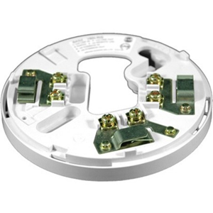 Hochiki YBN-R/3 Smoke Detector Base - For Smoke Detector - 41 V DC - Stainless Steel, ABS - White