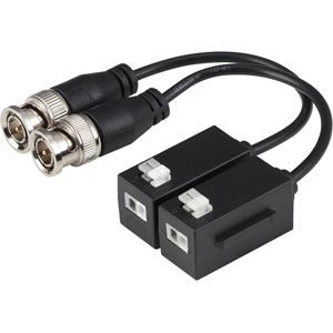 Dahua PFM800-4K Video Balun - Acrylonitrile Butadiene Styrene (ABS) - 400 m Maximum Operating Distance - BNC In - BNC Out - Network (RJ-45)