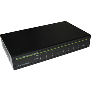 W Box 8 Ports Ethernet Switch - 2 Layer Supported - Twisted Pair - Lifetime Limited Warranty