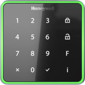 Honeywell OmniAssure Touch Biometric/Keypad Access Device - Door - Key Code, Proximity - 63.50 mm Operating Range - Wiegand - 18 V DC - Wall Mountable