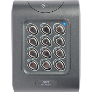Vanderbilt ACTpro Card Reader/Keypad Access Device - Door - Key Code, Proximity - Wiegand - 12 V DC - Surface Mount, Flush Mount