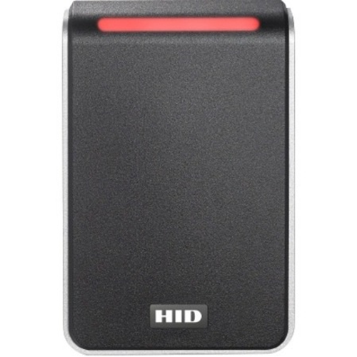 HID Signo 40 Contactless Smart Card Reader - Black, Silver - Cable100 mm Operating Range - Pigtail