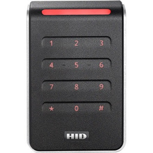 HID Signo 40K Contactless Smart Card Reader - Black, Silver - Cable101.60 mm Operating Range - Wiegand