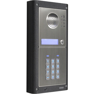 VIDEX GSM PRO Intercom Sub Station - for Door Entry - Stainless Steel - Wired/Wireless - Surface Mount
