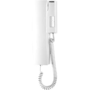 VIDEX 3021 Intercom Sub Station - White - Cable