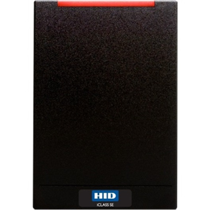 HID iCLASS SE R40 Contactless Smart Card Reader - Black - Cable130 mm Operating Range - Pigtail