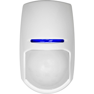 Pyronix KX15DQ Motion Sensor - Passive Infrared Sensor (PIR) - 15 m Motion Sensing Distance - Wall-mountable, Ceiling-mountable - ABS Plastic