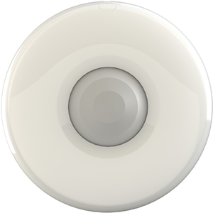 Pyronix OCTOPUSDQ Motion Sensor - Passive Infrared Sensor (PIR) - 12 m Motion Sensing Distance - 360° Viewing Angle - Ceiling-mountable - Plastic