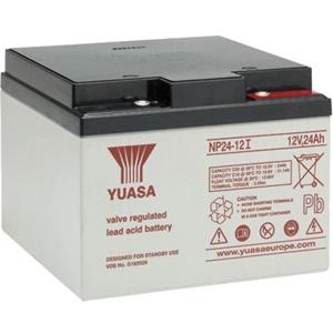 Yuasa NP24-12 Battery - Lead Acid - For Multipurpose - Battery Rechargeable - 12 V DC - 24000 mAh