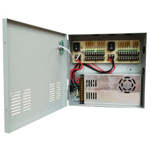 W Box 18 Channel 30AMP CCTV Power Supply