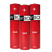 W Box AAA Alkaline Batteries 12 Pack