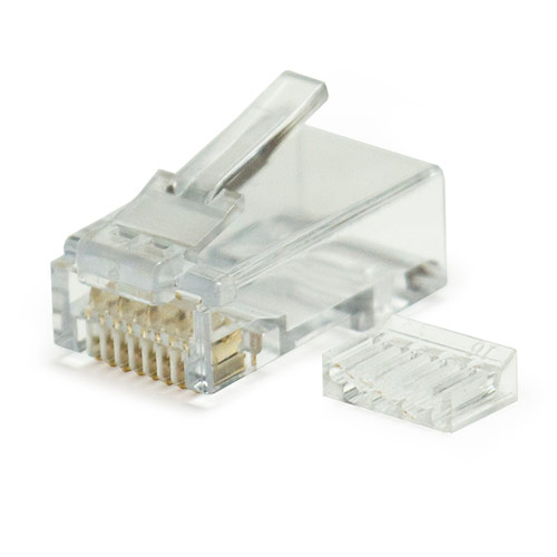 W Box Standard 2-PC Cat6 RJ45 Connector