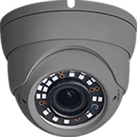 W Box 1 Megapixel Surveillance Camera - 1 Pack - Turret