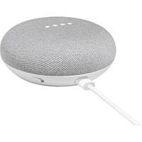 Google Home Mini Bluetooth Smart Speaker - Google Assistant Supported - Chalk