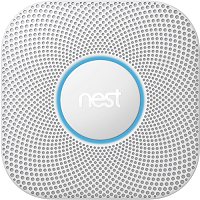 Google S3005PWLUS Nest Protect Smoke & CO Detector 2nd Gen, White