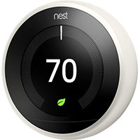 Nest Learning Thermostat, White (3rd Gen)