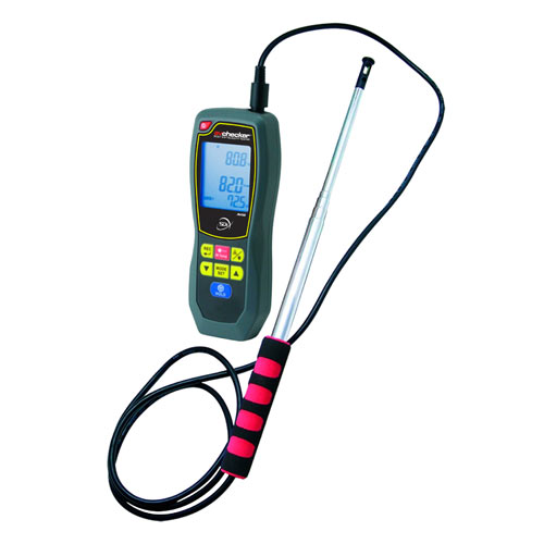 Duct Detector Air Velocity Anemometer