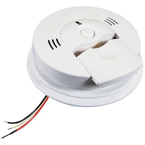 Kidde KN-COSM-IBA Smoke & Carbon Monoxide Alarm, 120VAC, Battery Backup