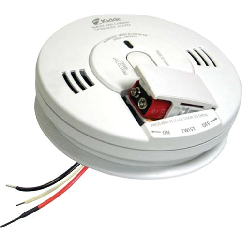 Kidde 110V Battery-Powered Photoelectric CO Detector