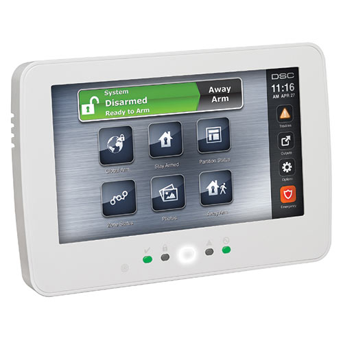 "PowerSeries Neo 7"" Hardwired Touch Screen Keypad"