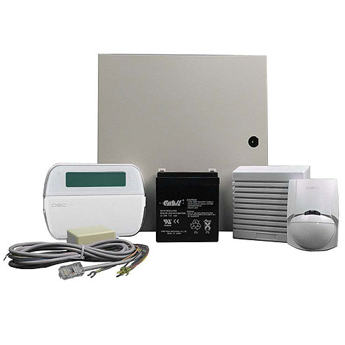 DSC KIT16-120CP01NT PowerSeries 6-16 Zone Hybrid Wireless Control Panel Kit With CP-01