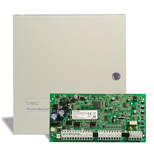 DSC PC1616NK PowerSeries Control Panel, 16 Hardwired Zones, No Keypad