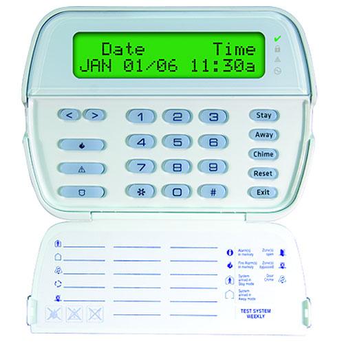 DSC PowerSeries 64-Zone LCD Full-Message Keypad