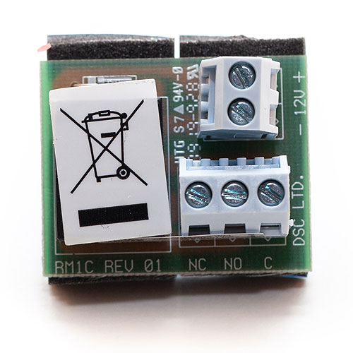 DSC RM-1C Relay Module, Alarm System Accessory for Fire Alarms and/or Burglary Alarms