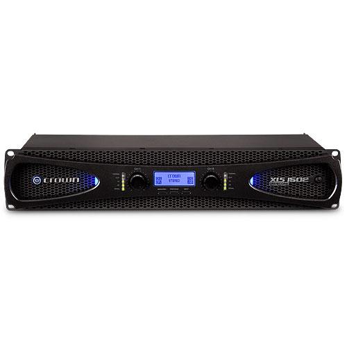 Crown XLS DriveCore 2 1502 Amplifier - 1500 W RMS - 2 Channel - Black