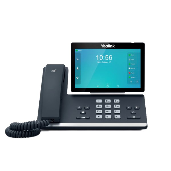 2N Yealink SIP-T58A IP Smart Media Phone, Android, 7 in. Touchscreen