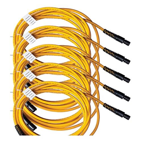 Paige Electric 259031607 Perimaguard AP Cablem, 5 Pack, Asset Protection Yellow