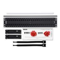 Belden KeyConnect AX103255 Cat6 48-Port Network Patch Panel