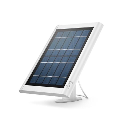 Ring Spotlight Solar Panel With Battery-White