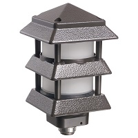 Pagoda-Style Landscape Light Fixtures