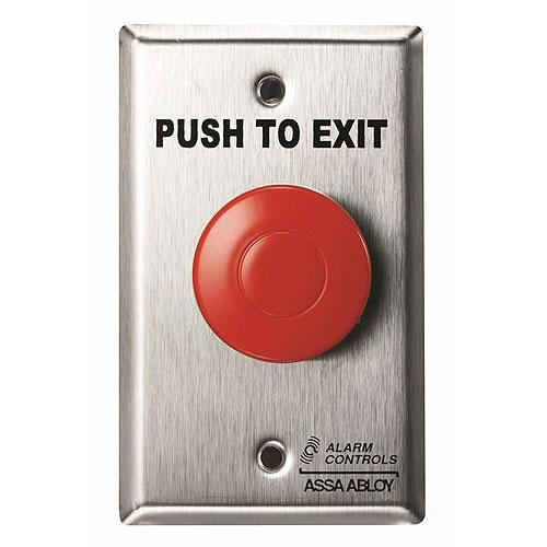 Alarm Controls TS-14R Push Button
