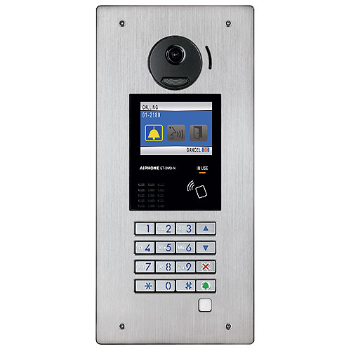 Aiphone GT-DMB-N 3-in-1 Video Entrance Station with NFC