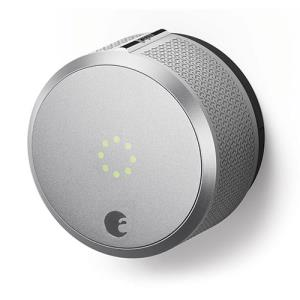August Smart Lock Pro With Z-Wave, Silver