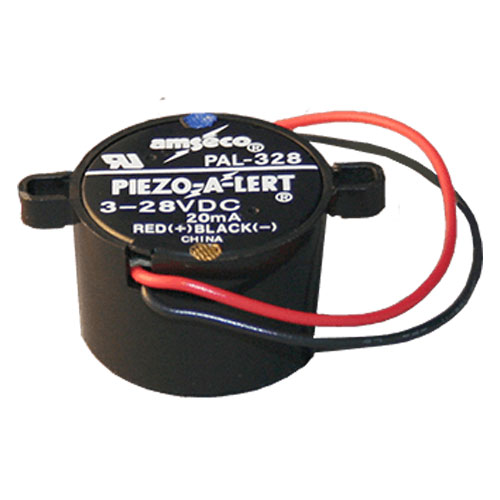 Amseco PAL328 Electronic Piezo Alert Buzzer with Nut