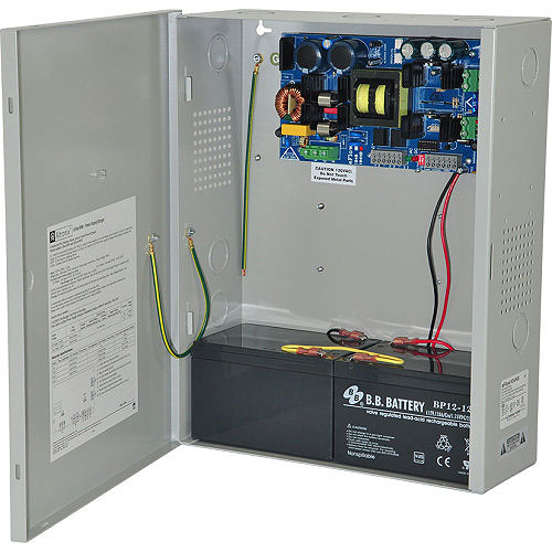 Power Supply/Charger - 24vdc @ 10a, AC And Battery
